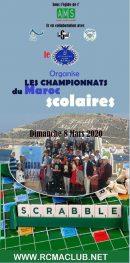 Les Championnats National Scolaire De Scrabble.